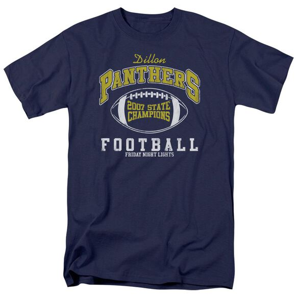 Friday Night Lights State Champs Short Sleeve Adult Navy Navy T-Shirt