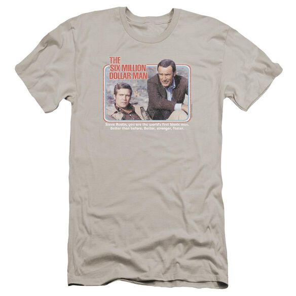 Six Million Dollar Man The First Premuim Canvas Adult Slim Fit