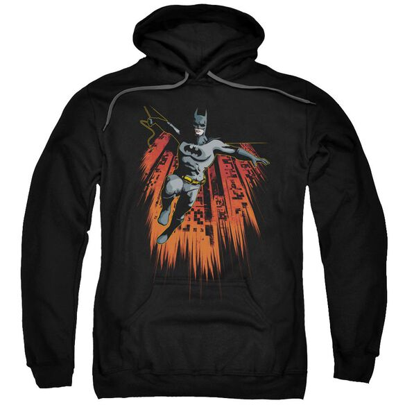Batman Majestic Adult Pull Over Hoodie