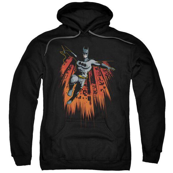 Batman Majestic Adult Pull Over Hoodie