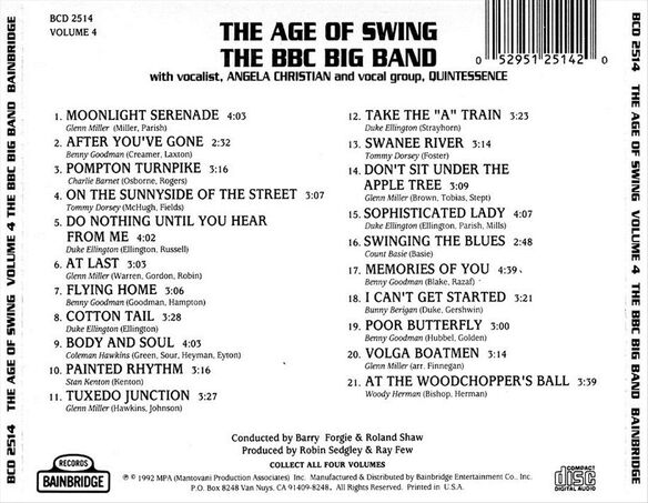 Age Of Swing Vol.4
