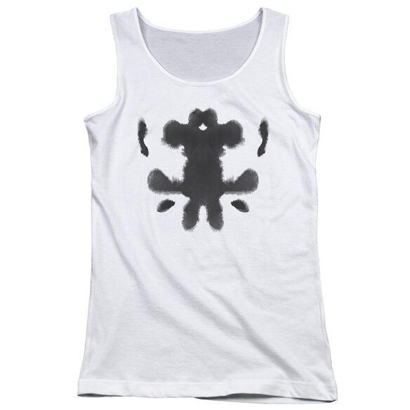 Watchmen Rorschach Face Juniors Tank Top