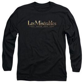 LES MISERABLES LOGO - L/S ADULT 18/1 T-Shirt