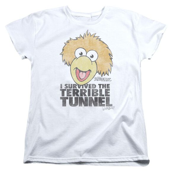 Fraggle Rock Terrible Tunnel Short Sleeve Womens Tee T-Shirt