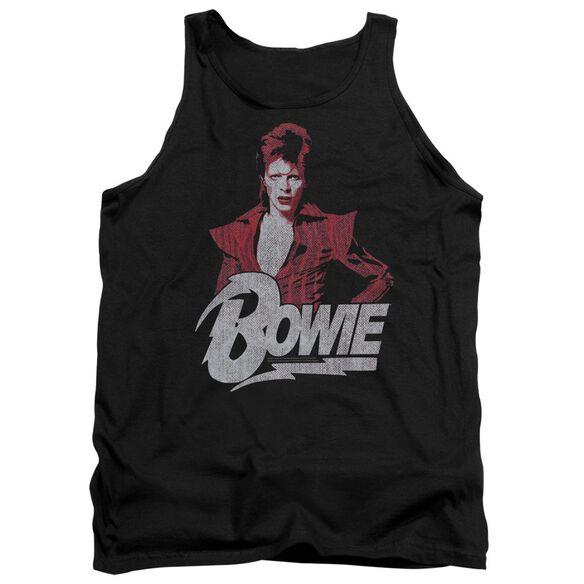 David Bowie Diamond David Adult Tank