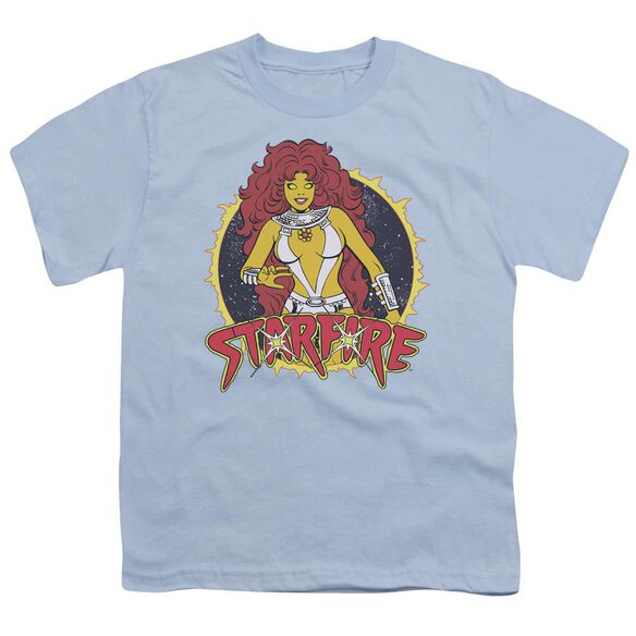 Dc Starfire Short Sleeve Youth Light T-Shirt
