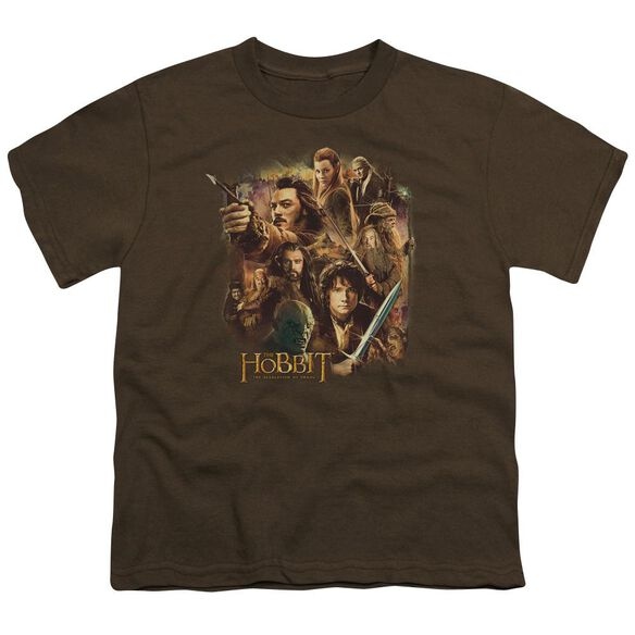 Hobbit Middle Earth Group Short Sleeve Youth T-Shirt