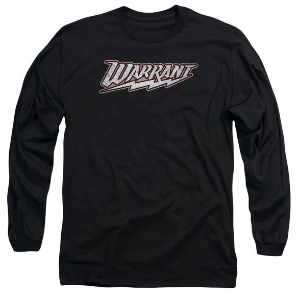 Warrant Warrant Logo Long Sleeve Adult T-Shirt