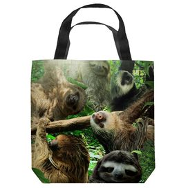 Sloth Club Tote Bag