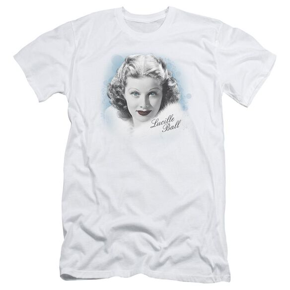 Lucille Ball In Blue Short Sleeve Adult T-Shirt
