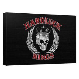 Hardluck Kings Red Letter Distressed Quickpro Artwrap Back Board