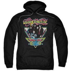 Aerosmith Triangle Stars Adult Pull Over Hoodie