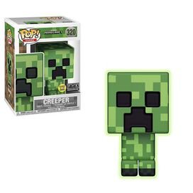 Minecraft Glow In The Dark Creeper Exclusive Funko Pop!