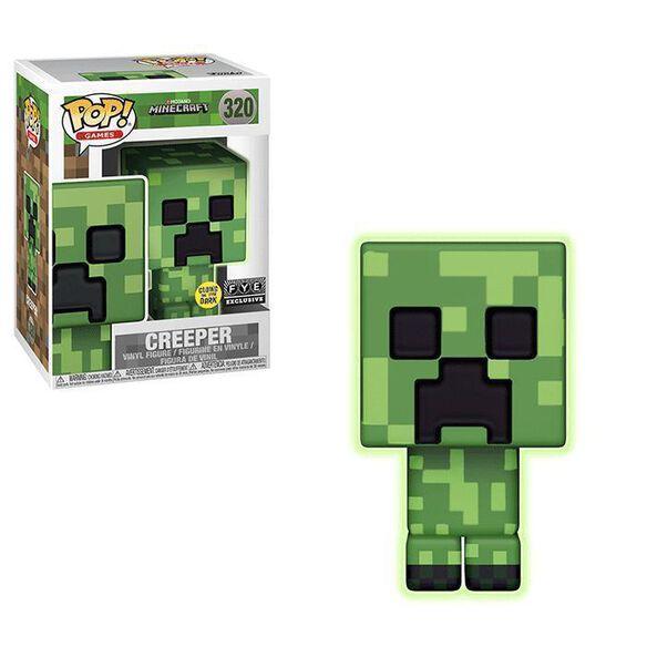 Minecraft Glow In The Dark Creeper Exclusive Funko Pop!