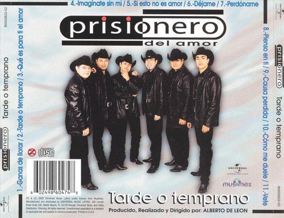 Tarde O Temprano 0703