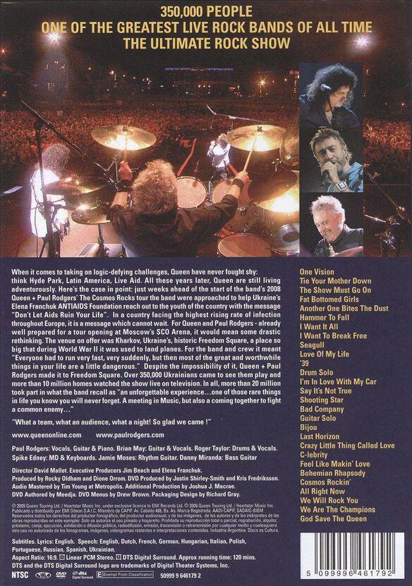 Queen + Paul Rodgers: Live in Ukraine