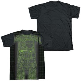 Astro Boy X Ray Short Sleeve Adult Front Black Back T-Shirt