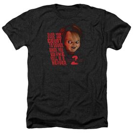Childs Play 2 In Heaven - Adult Heather - Black