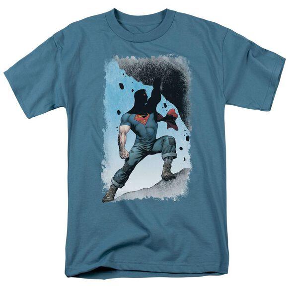 Superman Action Comics #1 Alternate Short Sleeve Adult Slate T-Shirt