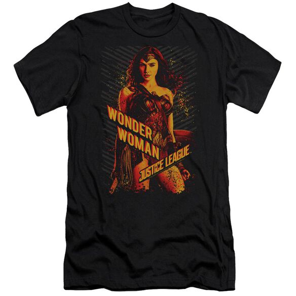 Justice League Movie Wonder Woman Hbo Short Sleeve Adult T-Shirt