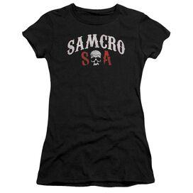 Sons Of Anarchy Samcro Forever Short Sleeve Junior Sheer T-Shirt