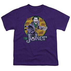 DC THE JOKER - S/S YOUTH 18/1 - PURPLE T-Shirt