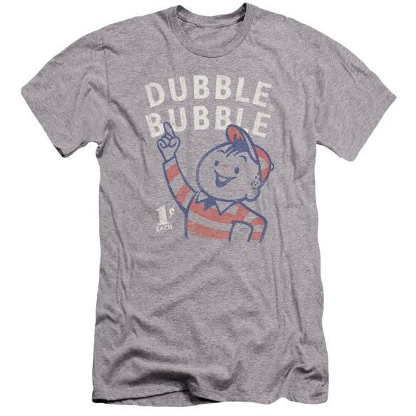 Dubble Bubble Pointing Premuim Canvas Adult Slim Fit Athletic