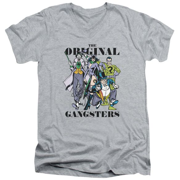Dc Original Gangsters Short Sleeve Adult V Neck Athletic T-Shirt