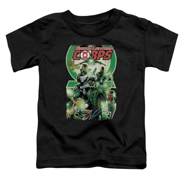 Green Lantern Gl Corps #25 Cover Short Sleeve Toddler Tee Black Md T-Shirt