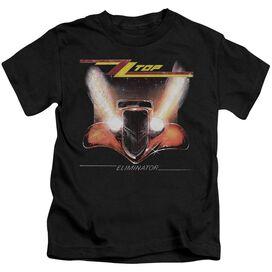 Zz Top Eliminator Cover Short Sleeve Juvenile Black T-Shirt
