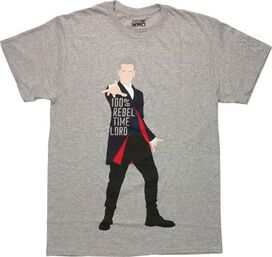 Doctor Who Rebel Time Lord T-Shirt