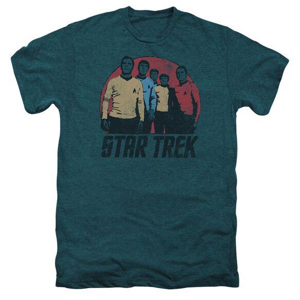 Star Trek Landing Party Short Sleeve Adult Premium Tee Deep Teal T-Shirt