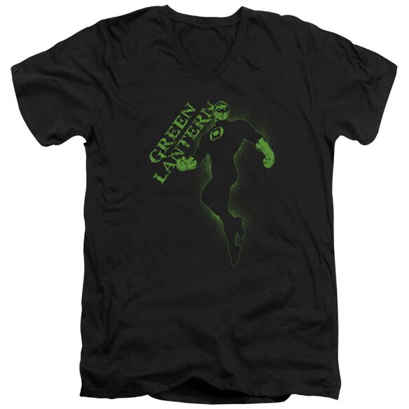 Gl Lantern Darkness Short Sleeve Adult V Neck T-Shirt