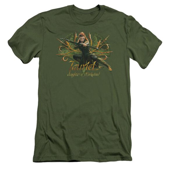 Hobbit Tauriel Short Sleeve Adult Military T-Shirt