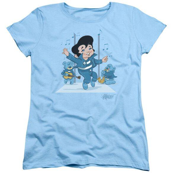 Elvis Jailhouse Rocker Short Sleeve Women's Tee Light T-Shirt