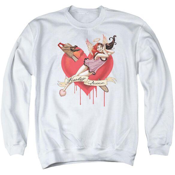 Batman Perfect Angel Adult Crewneck Sweatshirt