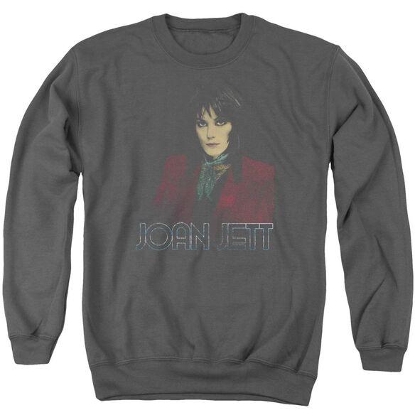 Joan Jett Worn Jett Adult Crewneck Sweatshirt