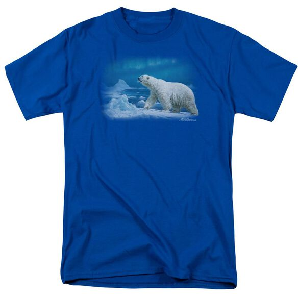 Wildlife Nomad Of The North Short Sleeve Adult Royal T-Shirt