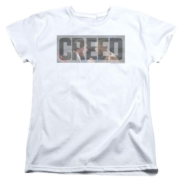 Creed Pep Talk Short Sleeve Womens Tee T-Shirt