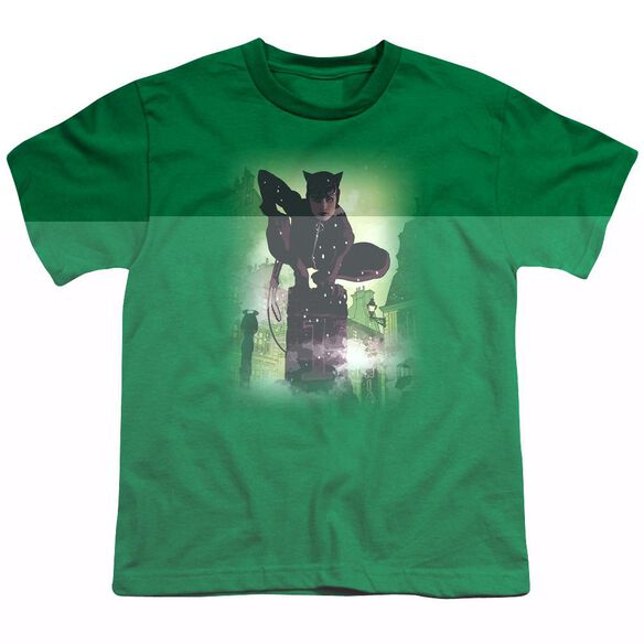 BATMAN CATWOMAN #63 COVER - S/S YOUTH 18/1 - KELLY GREEN T-Shirt