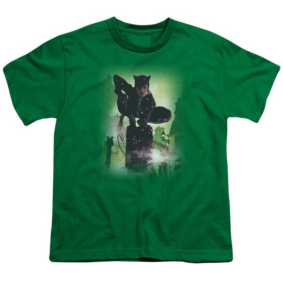 Batman Catwoman #63 Cover Short Sleeve Youth Kelly T-Shirt