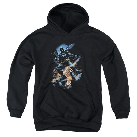 Batman Gotham Knight Youth Pull Over Hoodie