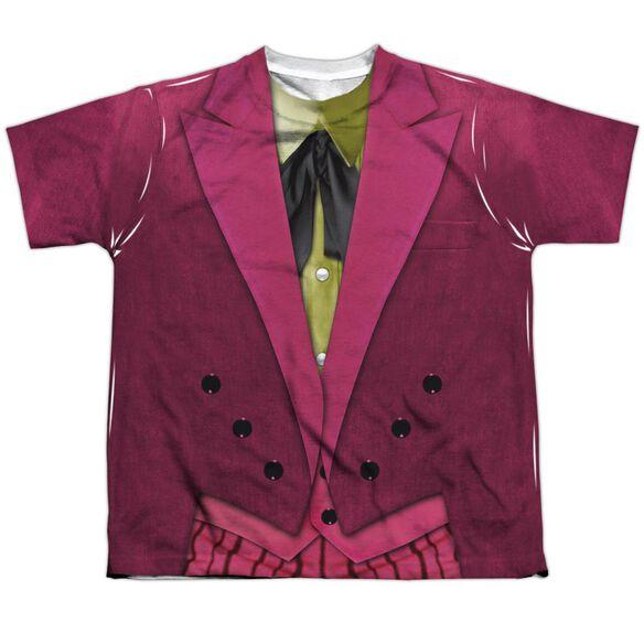 Batman Classic Tv Joker Uniform Short Sleeve Youth Poly Crew T-Shirt