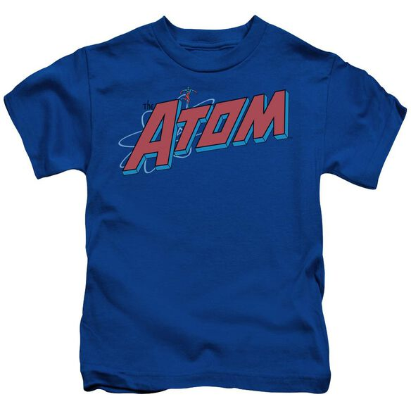 Dc The Atom Short Sleeve Juvenile Royal Blue T-Shirt