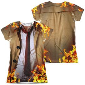 Constantine Outfit (Front Back Print) Short Sleeve Junior Poly Crew T-Shirt