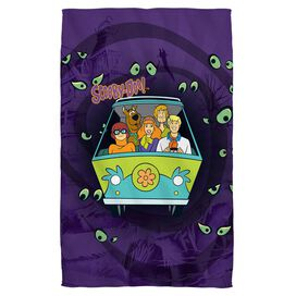 Scooby Doo Night Ride Towel White