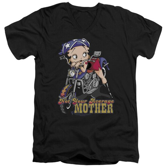 Betty Boop Not Your Average Mother Short Sleeve Adult V Neck T-Shirt