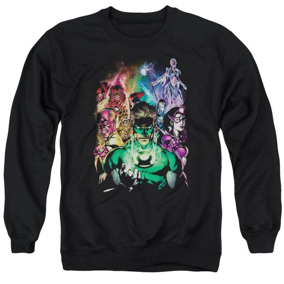 Green Lantern The New Guardians Adult Crewneck Sweatshirt
