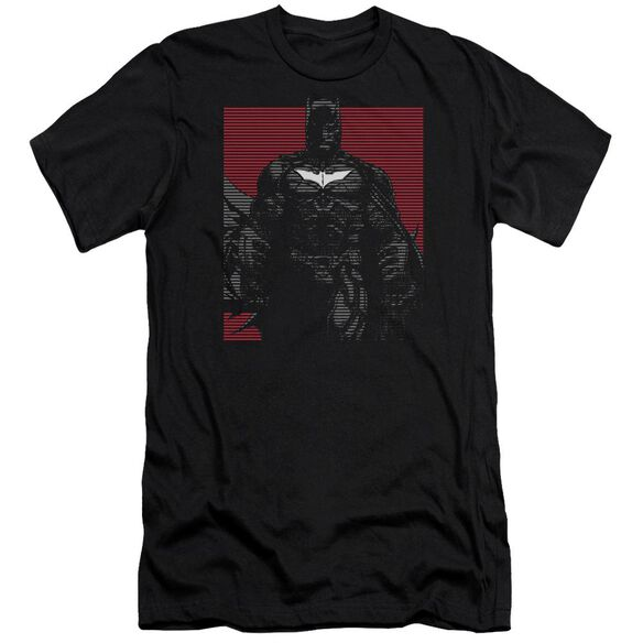 Dark Knight Rises Bat Lines Short Sleeve Adult T-Shirt
