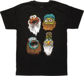 Sesame Street Duck Dynasty Dressed Muppets T-Shirt